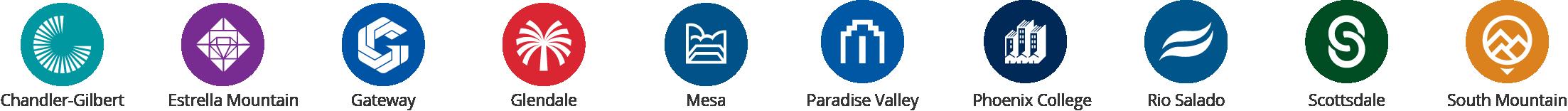 10 Colleges Logo
